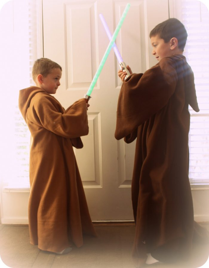 DIY Jedi Robes