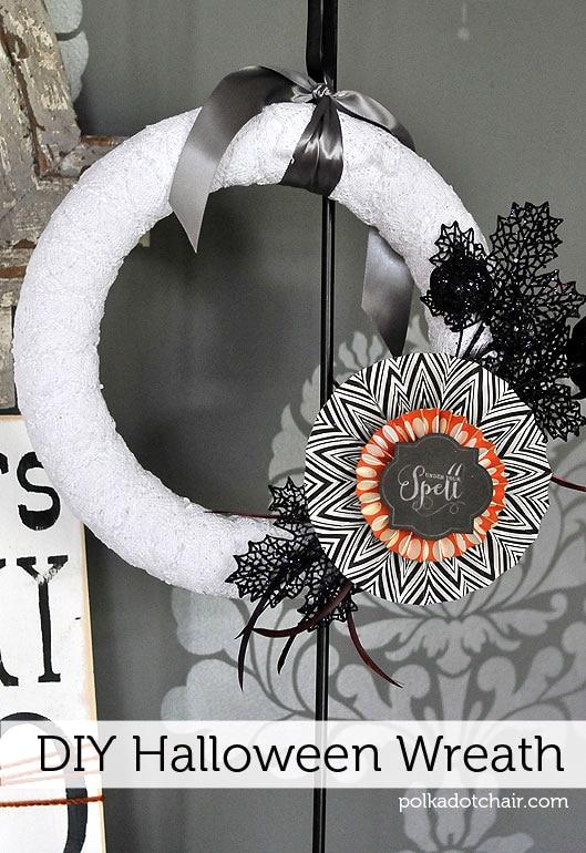 Diy Halloween Wreath Ideas P S It S Interchangeable
