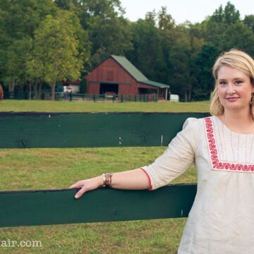 Embroidered Tunic Sewing Pattern