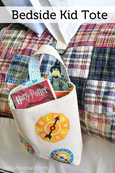 Bedside Kid Tote Tutorial