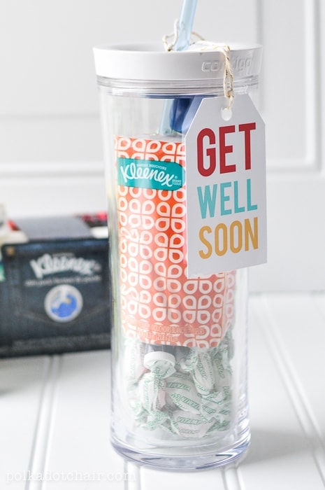 Get Well Soon Care Package and free printables