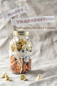 Thanksgiving Gift Idea and Free Printable