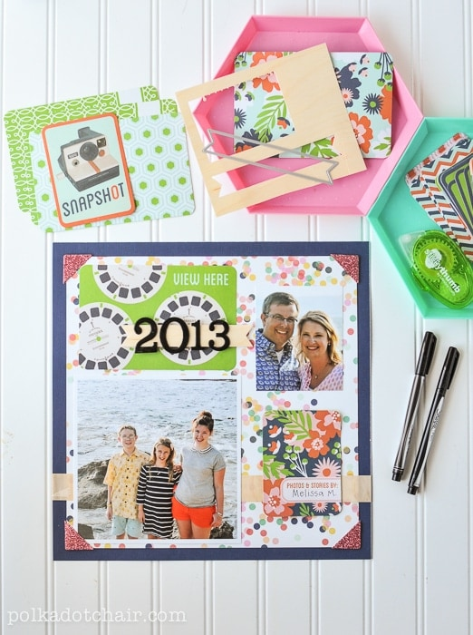 Family Scrapbook Ideas on polkadotchair.com