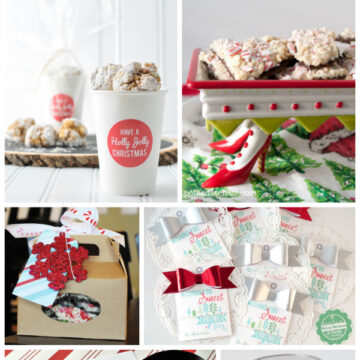 Creative Ideas for packaging up sweets for Christmas Gifts