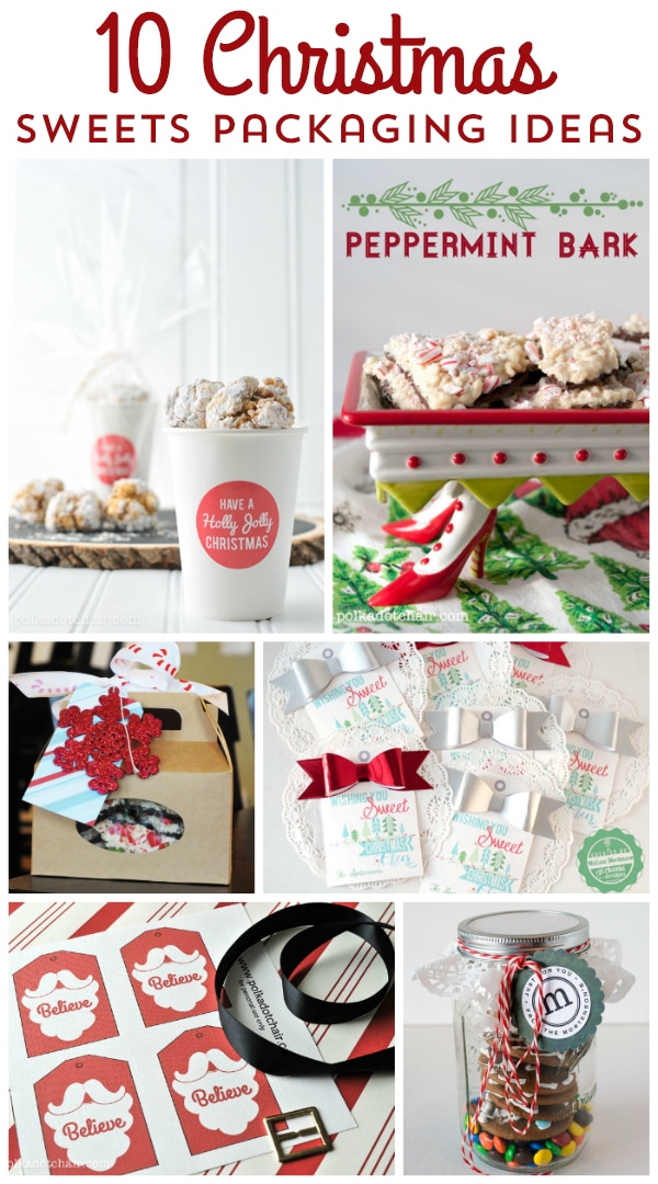DIY Ideas for packaging Christmas Treats and gifts