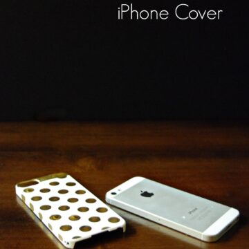 DIY Kate Spade Inspired iPhone Case