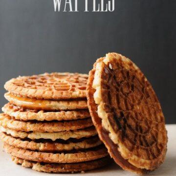 Caramel Waffle Recipe