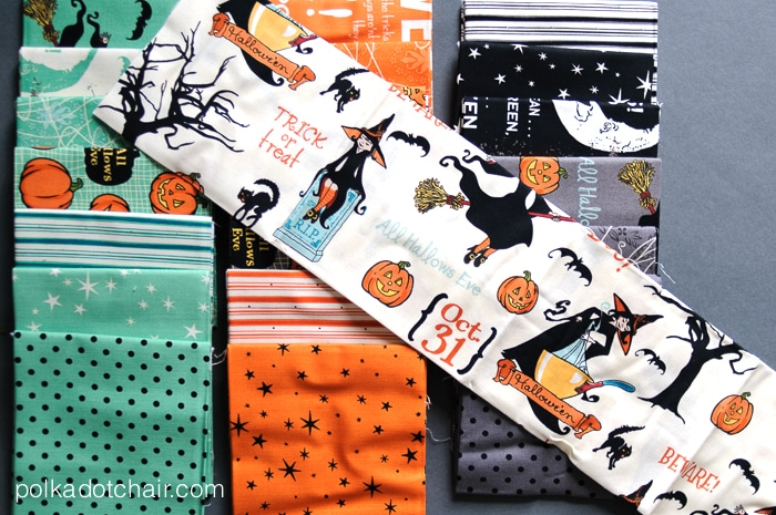 October Afternoon Halloween Fabric