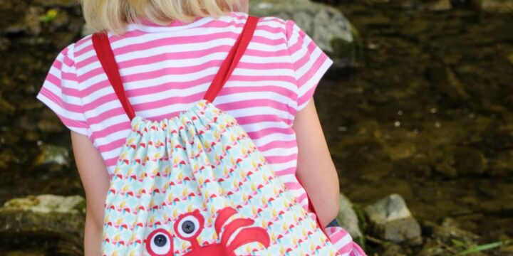 kids drawstring backpack
