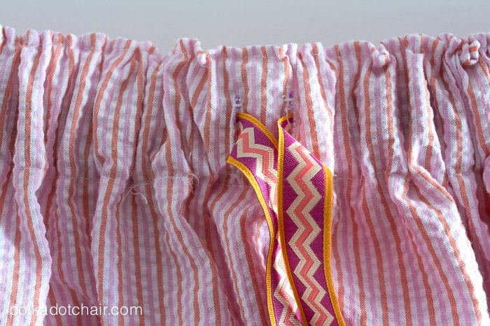 Simple Summer Skirt Sewing Tutorial on polkadotchair.com