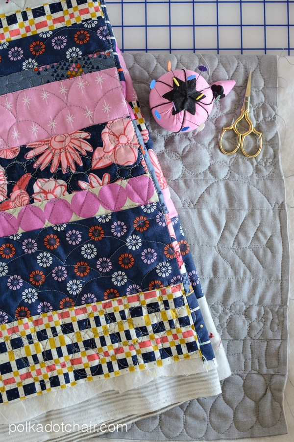 Free Motion Quilting Patterns, from Craftsy's Small Changes, Big Variety Class