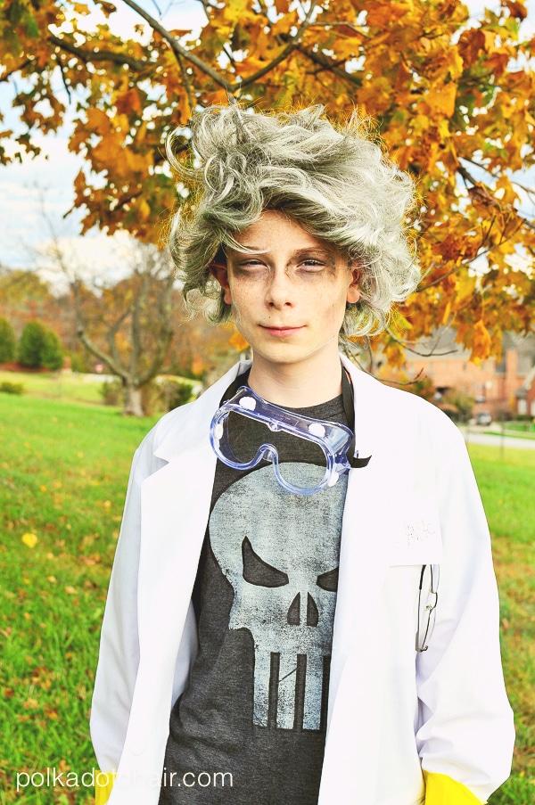 Mad Scientist Halloween Costume