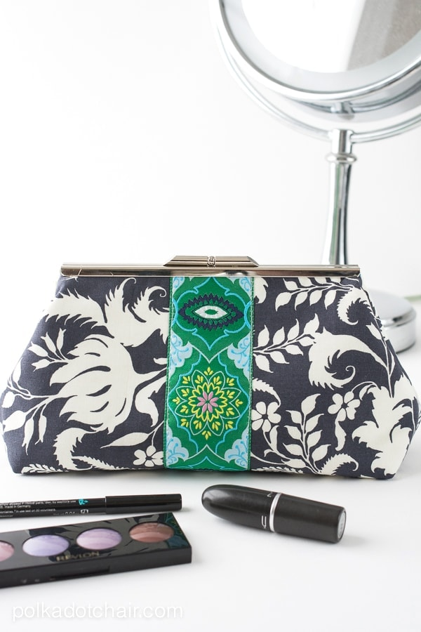 Frame Clutch Sewing Pattern
