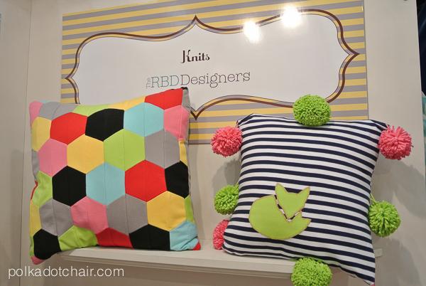 Riley Blake Fabrics Display at Quilt Market