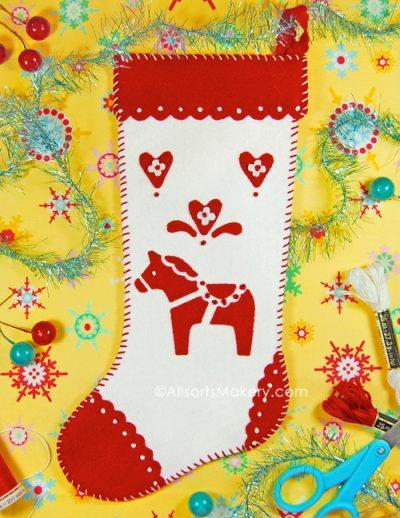 Dala Horse Stocking @ All Sorts