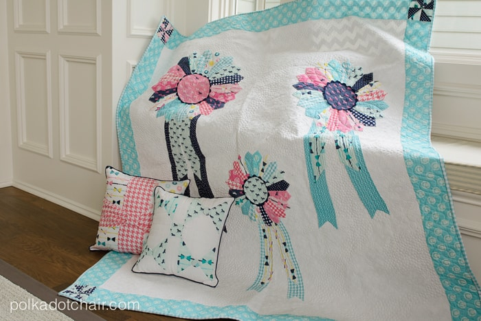 Quilt-with-dresden-ribbons