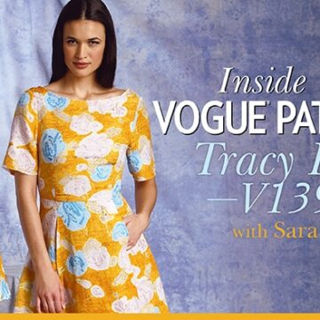 Inside Vogue Patterns, Tracy Reese Craftsy Class