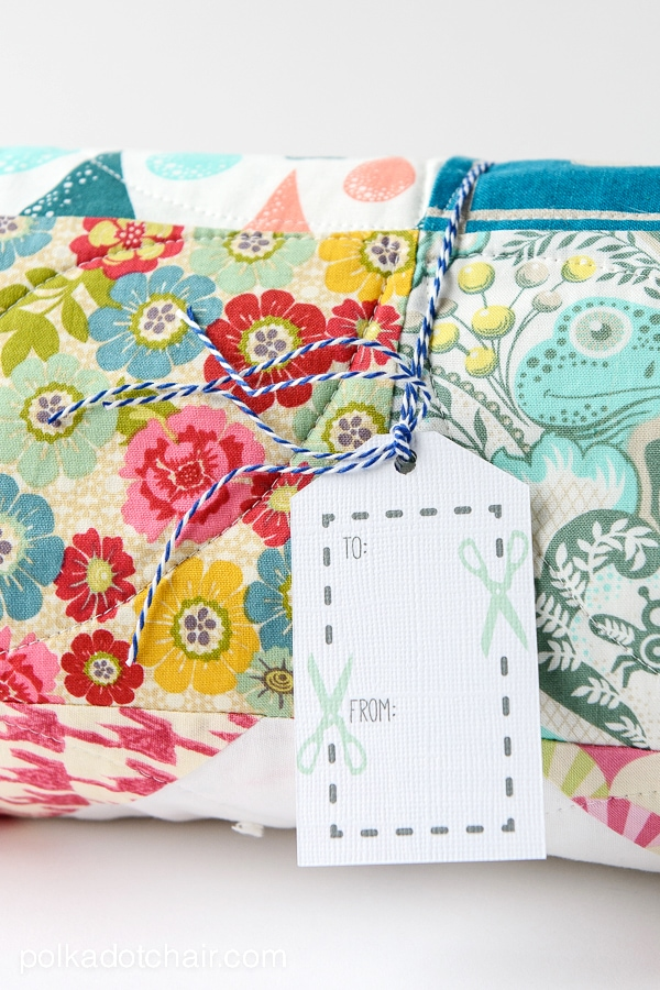 Sewing Project Gift Tag Printable