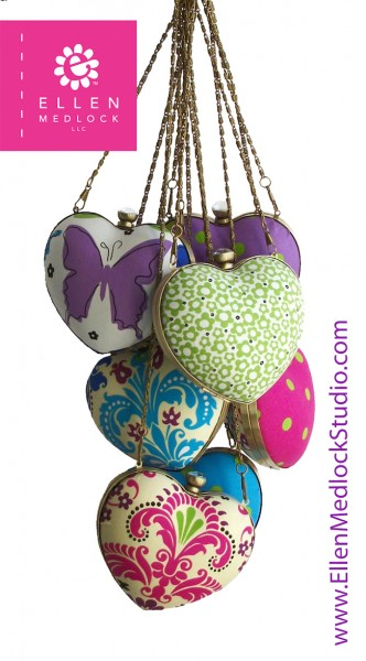 Heart Shaped Coin Pouches DIY