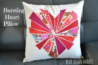 Bursting Heart Valentines Day Sewing Pattern