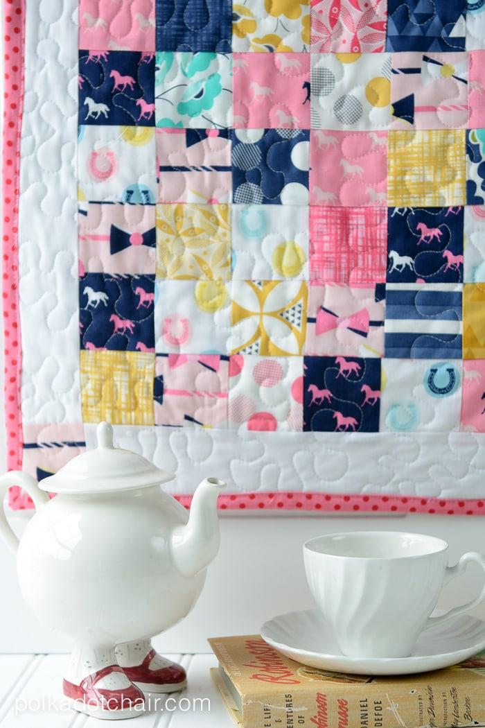 Patchwork Baby Doll Quilt