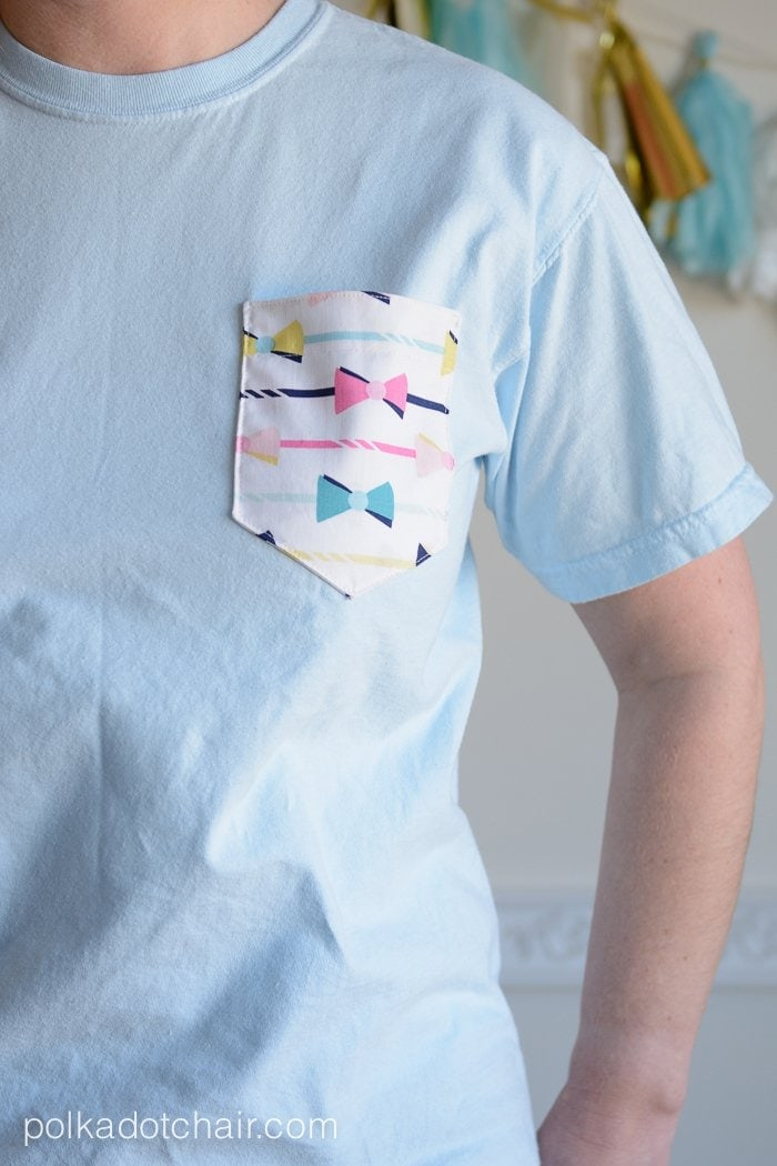 DIY Pocket Tees