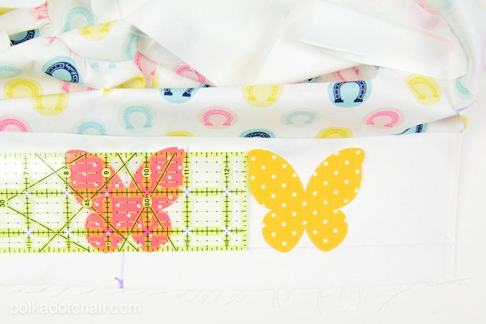 How to sew a custom Easter Basket Liner