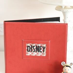 Cute and Simple ways to create a Disney scrapbook
