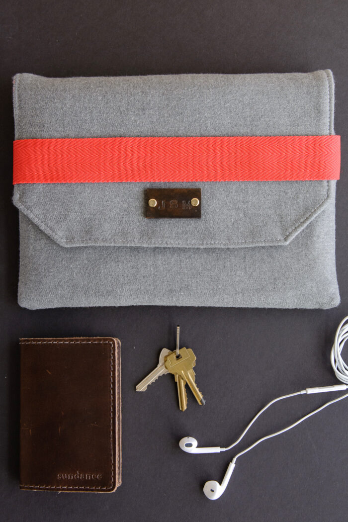 Wool iPad Case Sewing pattern, a great pattern for an ipad case for guys!