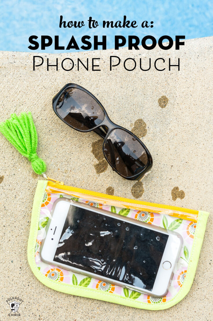 How to Make a Phone Case that's Splash Proof