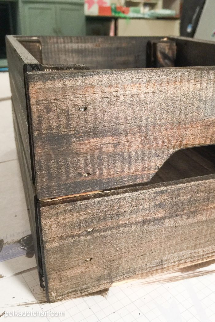 How to make a vintage style soda crate - there is a free download for the lime crush .svg file on this site.