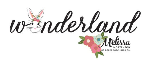 Wonderland Fabric coming in February 2016, designed by Melissa Mortenson for Riley Blake Designs