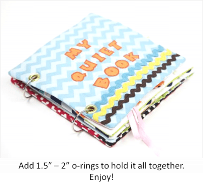 How to make a quiet book- Riley Blake Designs