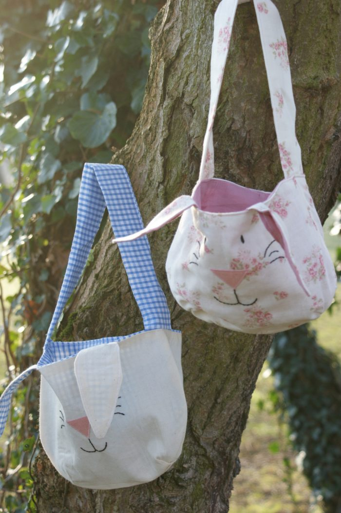 Easter Bunny Tote Bag Sewing Pattern by Love Me Sew