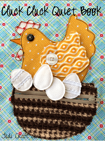 Chicken Quiet Book Page Sewing Tutorial