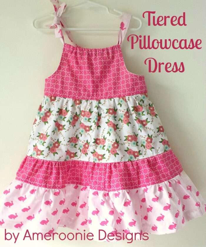 Tiered Pillowcase Dress Sewing Tutorial by Ameroonie Designs