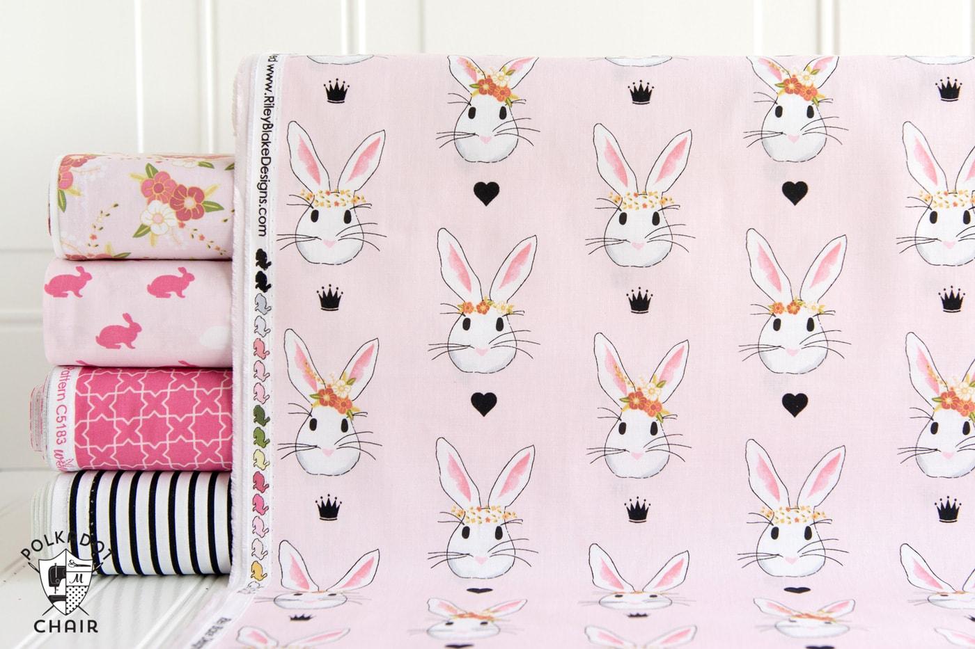 Wonderland Fabrics by Melissa Mortenson of polkadotchair.com for Riley Blake Designs