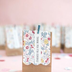 DIY Liberty of London Treat Bags by Oh Happy Day
