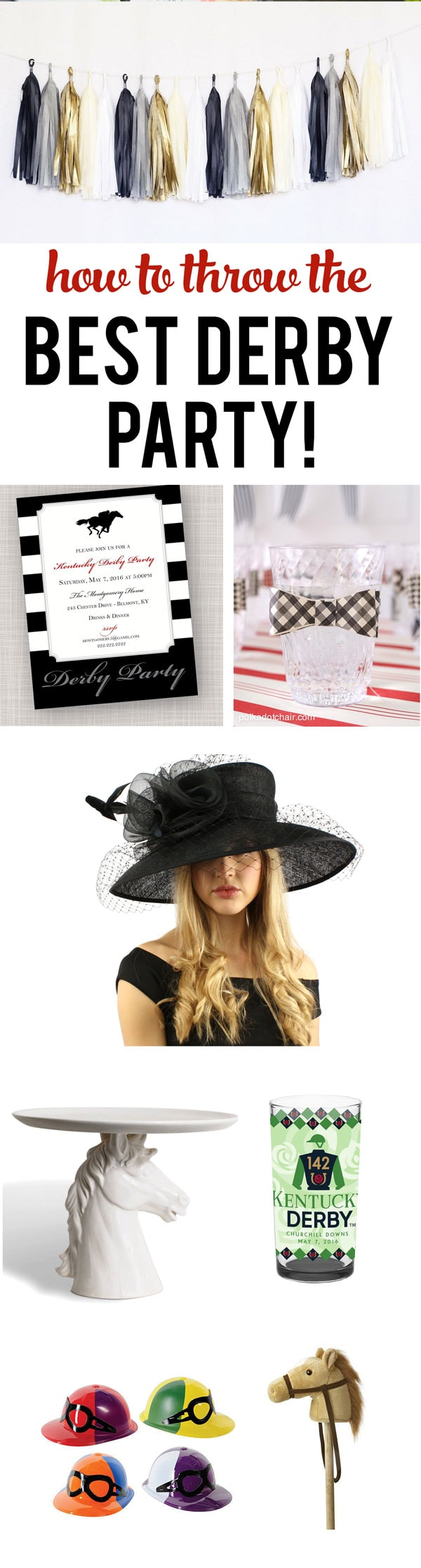 How to have THE BEST Kentucky Derby Party EVER!