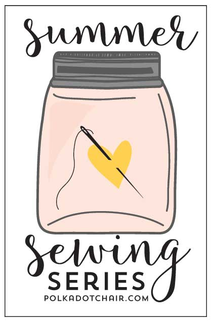 Loads of fun and CUTE summer sewing projects - a new free project or tutorial will be posted each week all summer!