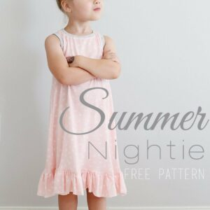 Summer Nightie Sewing Pattern -