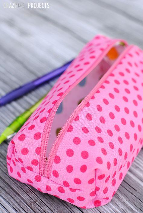 Pencil Pouch Sewing Tutorail