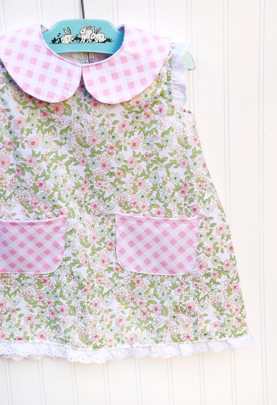 Wonderland Girls Dress made by Elea Lutz