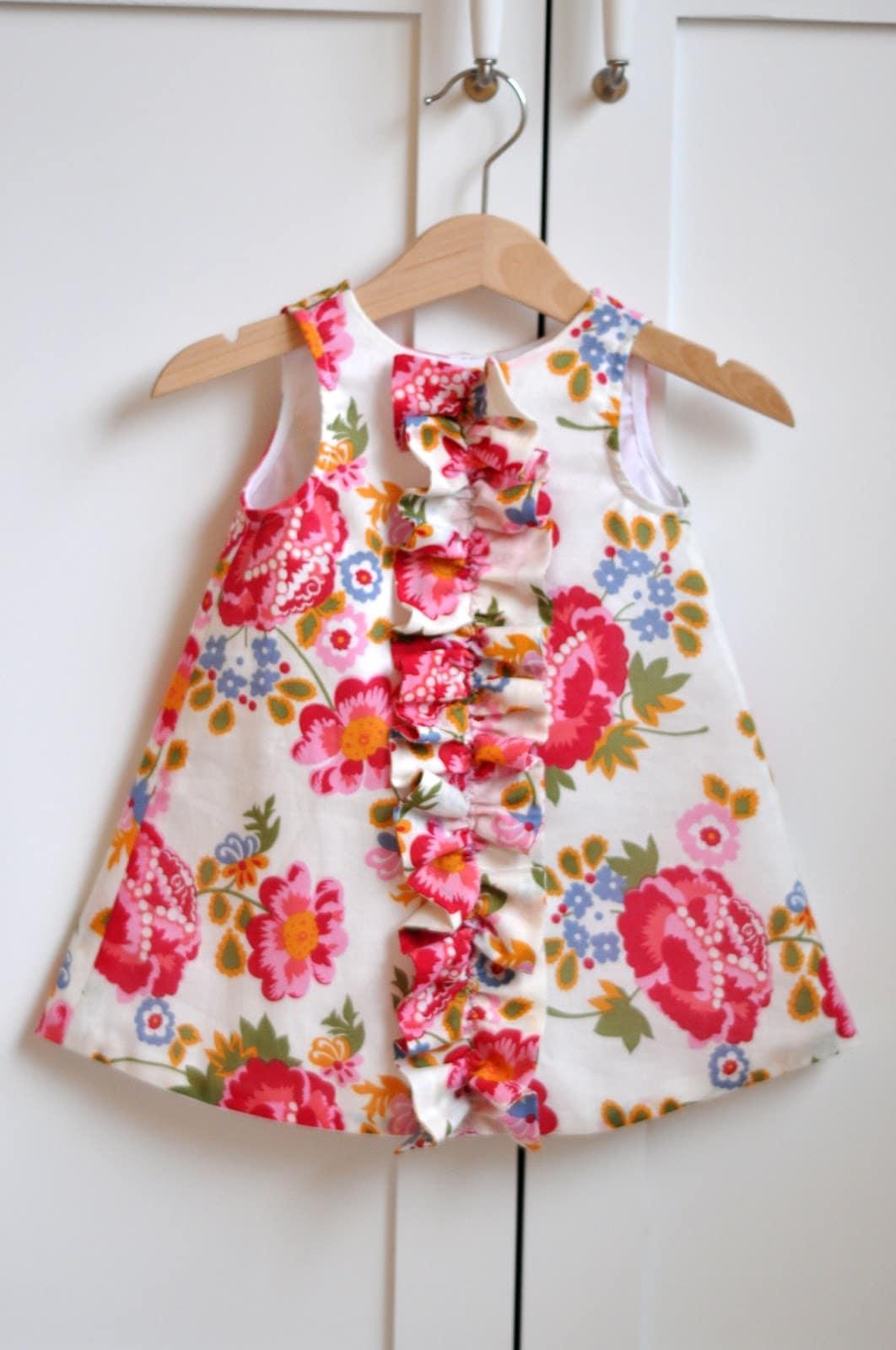 Ruffled Chemise Dress by Aesthetic Nest