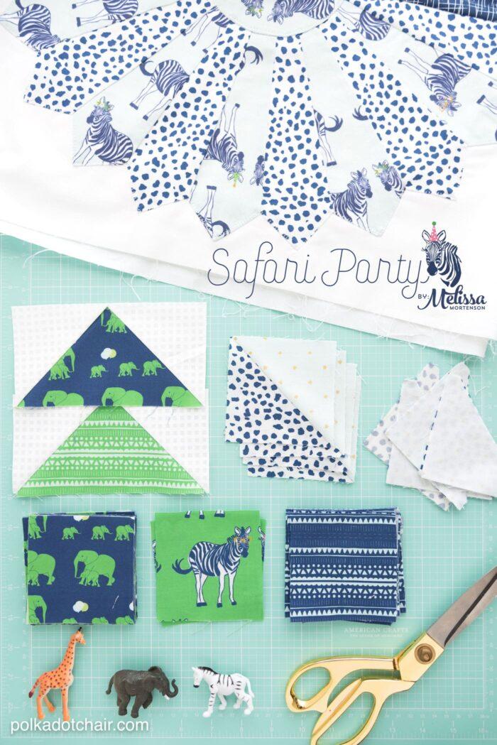 Safari Party Fabric by Melissa Mortenson for Riley Blake Designs