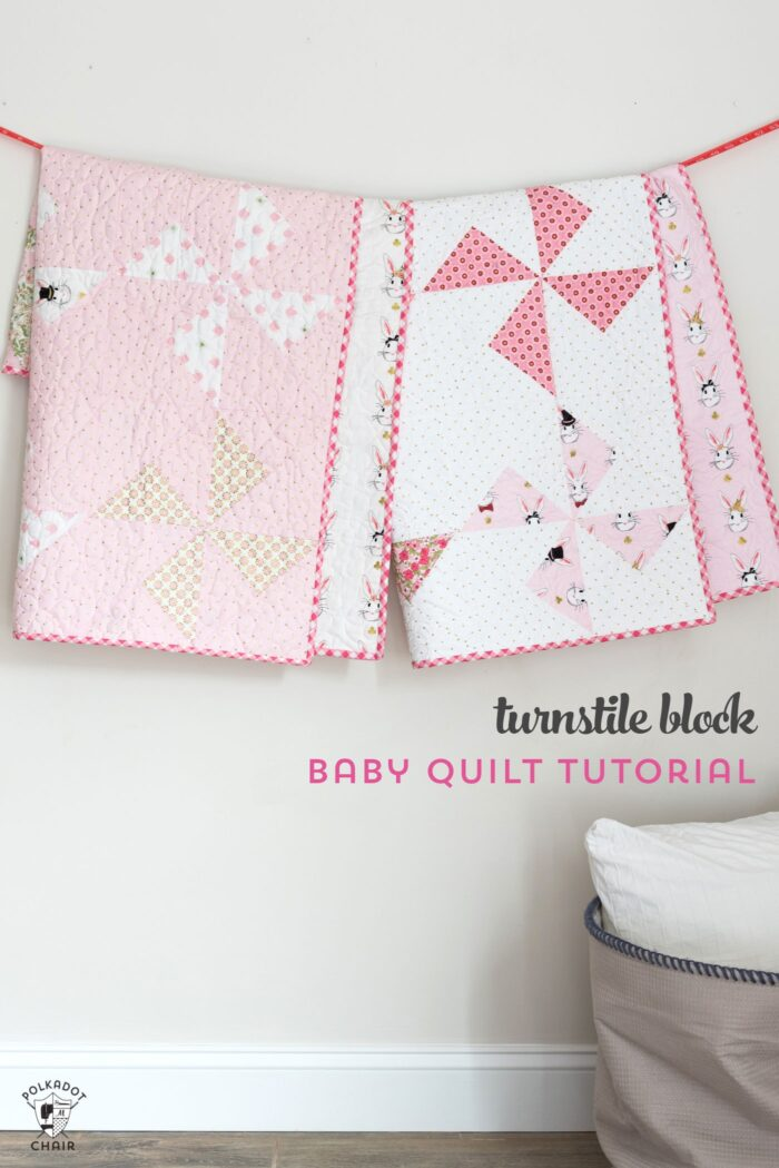 Turnstile Baby Quilt