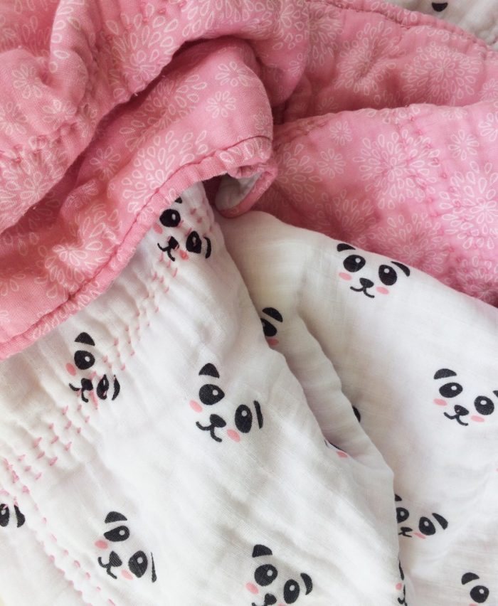 Quilted Double Gauze Blanket Tutorial - Riley Blake Designs