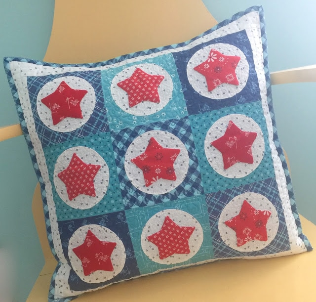 Star Pillow by Lori Holt