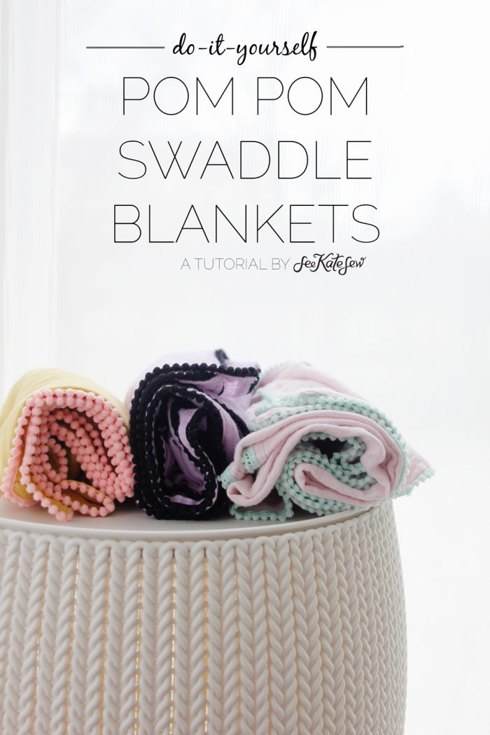 How to make swaddle blankets with double gauze fabrics