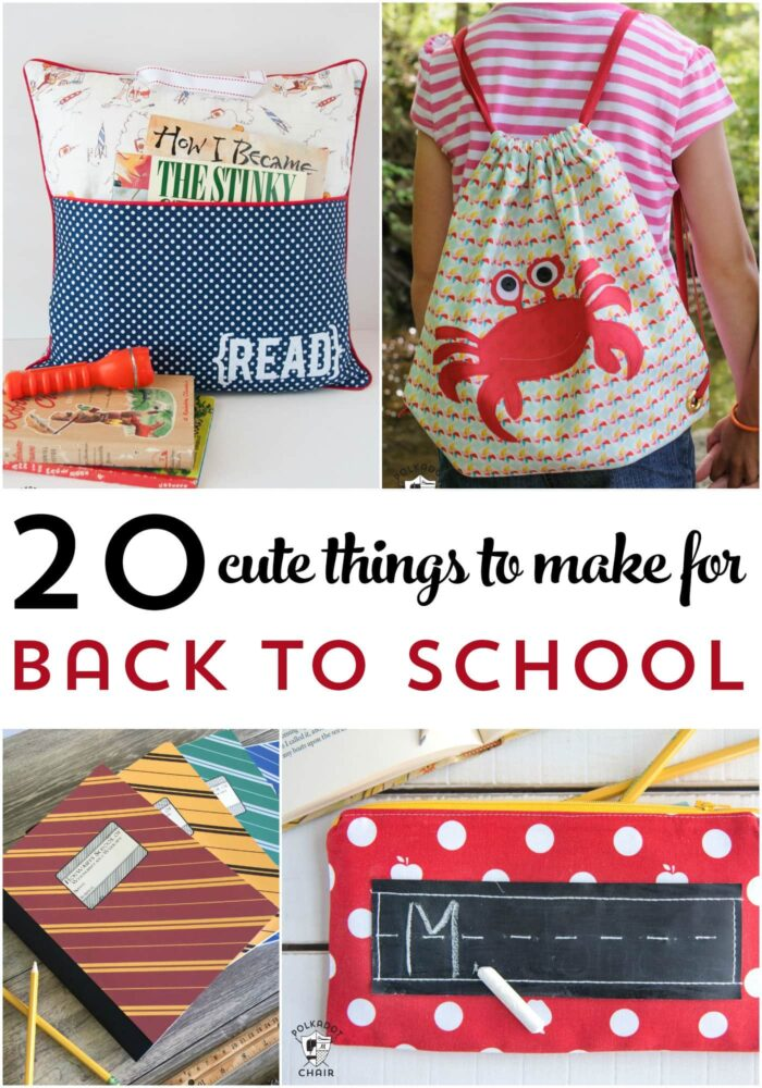 Things to make for back to school